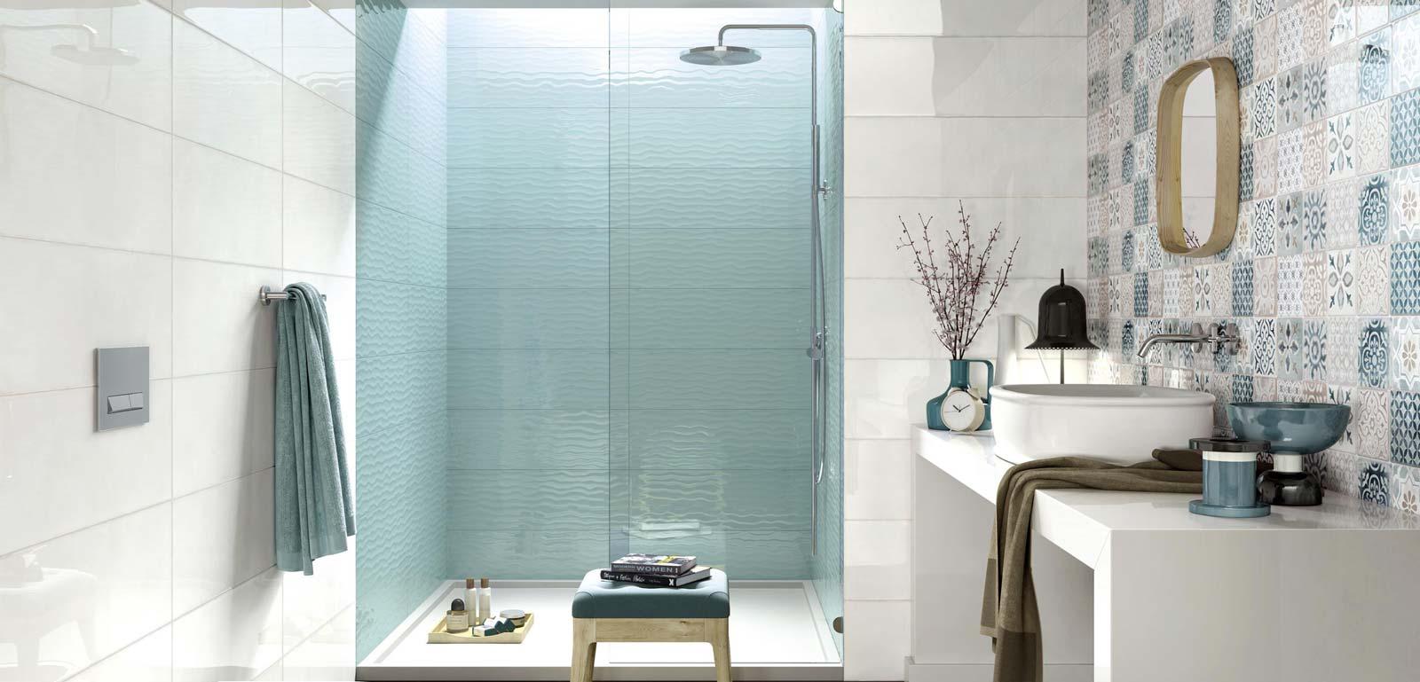 Salle De Bain Revetement revêtement mural de salle de bains moderne : frame et energy