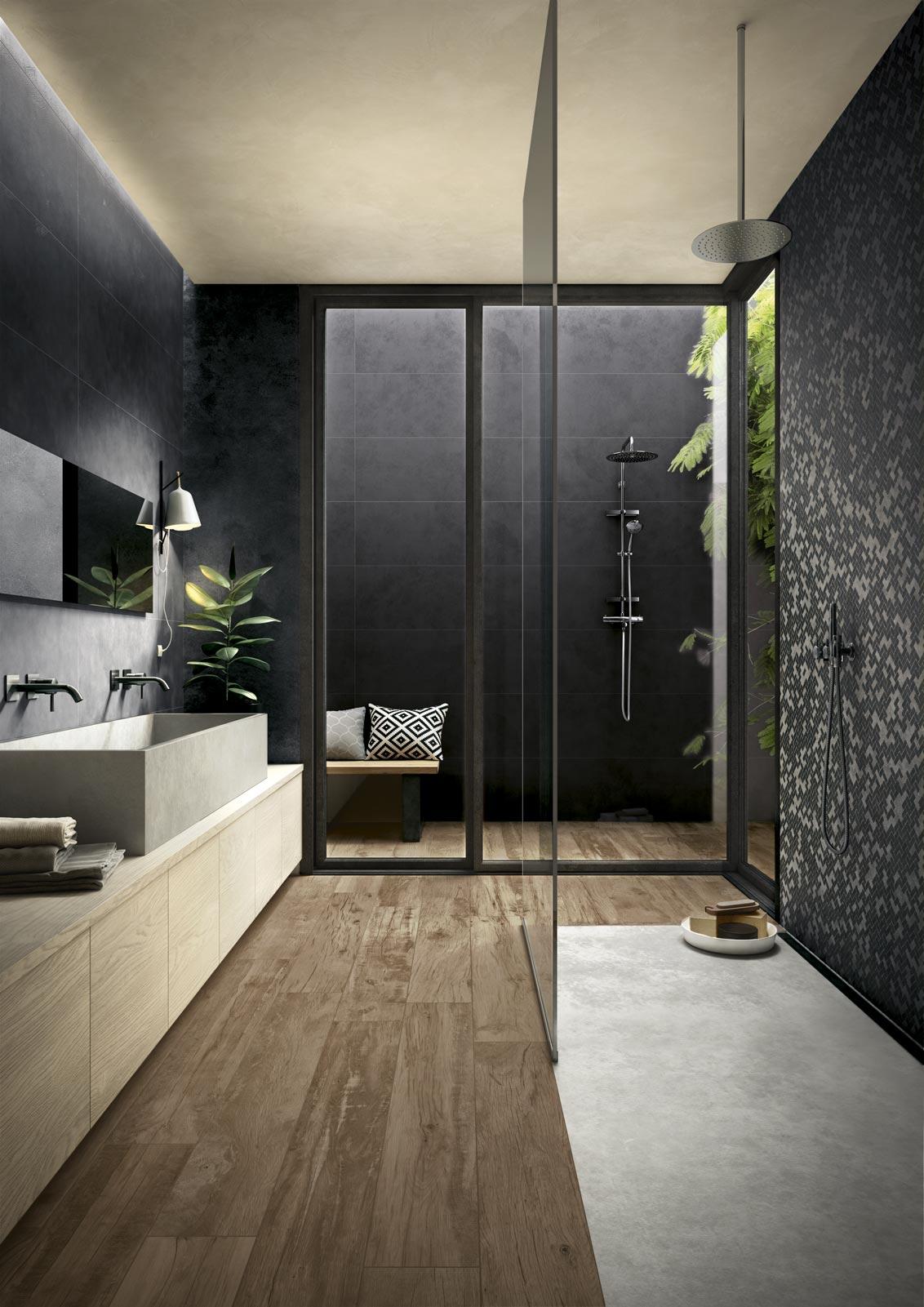 carreaux salle de bains en gr s c rame ragno. Black Bedroom Furniture Sets. Home Design Ideas